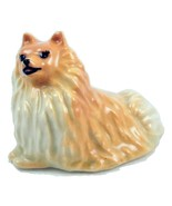 Vintage Ceramic Arts studio sitting Pomeranian ... - $20.00