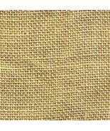 FABRIC CUT 30ct parchment linen 9x9 Little Lady... - $6.00