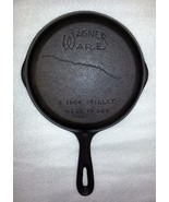 WAGNER WARE CAST IRON SKILLET # 5 , 8 INCH MADE... - $24.31