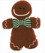 Large Fred gingerbread boy 4457L handmade clay ... - $2.75
