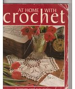 OOP Leisure Arts SB Crochet Book At Home with C... - $8.99