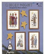 O Holy Night Christmas Cross Stitch Patterns Di... - $7.50
