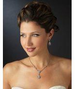 New Sparkling CZ and Diamante Rhinestone Weddin... - $73.35