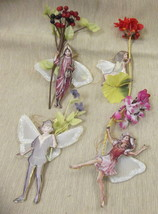 Bradford Editions Flower Fairies Ornaments Set ... - $14.85