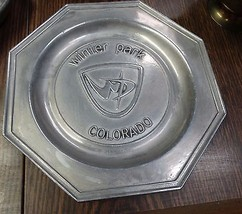Wilton Pewter Plate Souvenir Winter Park Colora... - $24.99