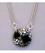 Venetian Medallion Pendant Sterling Silver Chai... - $345.00