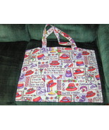 Tote Bags Purse Red Hat Halloween Sports  - $7.97