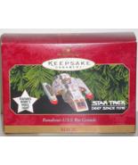 Star Trek Deep-Space 9 Rio Grande Hallmark Orna... - $20.00