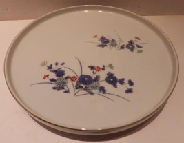 Vintage Asian Small Plate Tidbit Tray White Blu... - $14.50