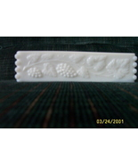 Milk Glass Rectangle Dish Bowl - $12.97