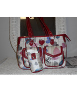 white with hearts purse - $24.75
