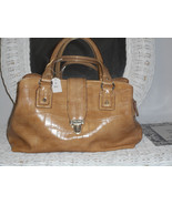 Tan Claiborne purse - $24.75