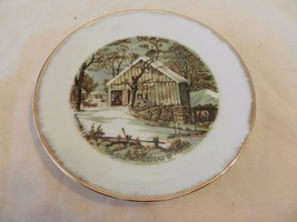 The Old Homestead in Winter Currier & Ives Coll... - $29.69