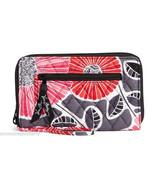 Vera Bradley Zip Around Wristlet Wallet Cheery ... - $54.95