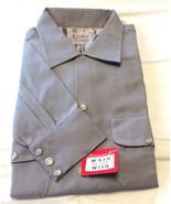 VIntage Rockabilly Pearl Snap Button Shirt Nort... - $93.10