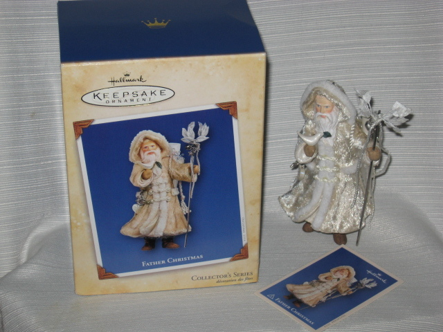 2004 Hallmark Father Christmas Series #1 Ornament w/ Box ~ Dove of Peace