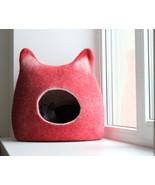 Pets bed / Cat bed - cat cave - cat house - gif... - $92.65 - $146.20