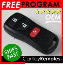 NEW! OEM Nissan Remote Fob w/ Instructions # CWTWB1U733 # 28268EA - Ships Fast!