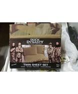 Duck Dynasty 3 Piece Twin Sheet Set - $29.70