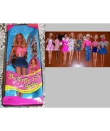 BUTTERFLY ART BARBIE w/ Wearable Body Art NEW &... - $14.95