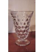 3 FOSTORIA AMERICAN CLEAR GLASS WATER ICED TEA ... - $39.55