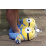Despicable Me Minion Plush Bedroom Slippers Minion Mayhem NEW - $39.95