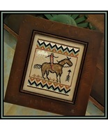 CLEARANCE The Journey western cross stitch Tumb... - $4.00