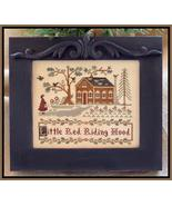 CLEARANCE Little Red Riding Hood cross stitch c... - $4.00