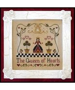 CLEARANCE A Queen of Hearts cross stitch chart ... - $4.00