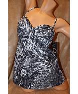 Shore Shapes 12 1PC Leaopard Print Twist Frontt... - $48.99