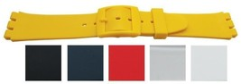 Swatch Type Rubber Watch Straps (14 & 17mm) - V... - $7.55