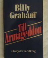 Armageddon by Billy Graham Christian pb - $2.00