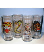 Ed Hardy Predator High Ball Glass - Set of 4 NI... - $14.99