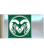 COLORADO STATE CSU RAMS stainless steel  Money ... - $9.95