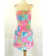 LILLY PULITZER Size 6 Pristine Tropic Patchwork... - $69.98