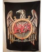 SLAYER Eagle Swords Star King Lombardo Cloth Fa... - $12.85