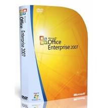 MICROSOFT OFFICE ENTERPRISE 2007 DOWNLOAD + PRO... - $25.00