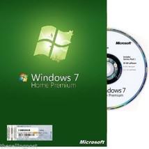 Microsoft Windows 7 Home Premium - WIN OS 64 Bi... - $78.00