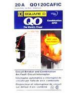 Square D QO120CAFIC 20A Circuit Breaker Arc Fau... - $39.95