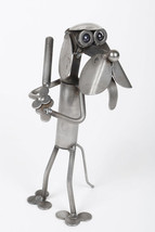 Yardbirds Sculpture, Mini Baseball, Recycled Me... - $41.95