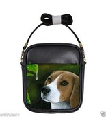 Small Sling Bag Purse Dog 116 Beagle from art p... - $24.99