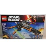 Lego Star Wars Poe's X-Wing Fighter 75102 inclu... - $99.95