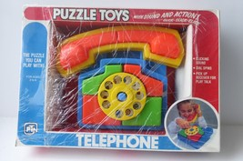 Plastic Toy Novelty Telephone Puzzle with Sound... - $19.00