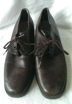 Women's Kenneth Cole Chocolate Brown Oxfords Si... - $23.75