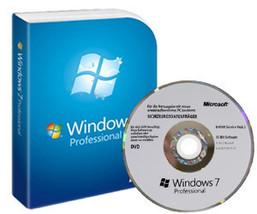 Microsoft Windows 7 Professional (DVD and Produ... - $45.00