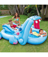 Inflatable Kids Pool Toy Swimming Water Slide S... - $74.48