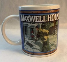 Maxwell House Coffee Cup Mug Vintage Style Rock... - $9.45