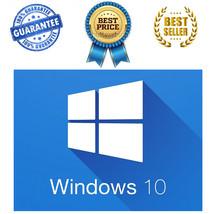 Windows 10 Professional Pro 64Bit & 32Bit Key O... - $29.99