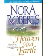 Heaven and Earth Nora Roberts 3 Sisters Island ... - $5.99