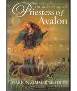 Priestess of Avalon by Marion Zimmer Bradley HCDJ - $5.99